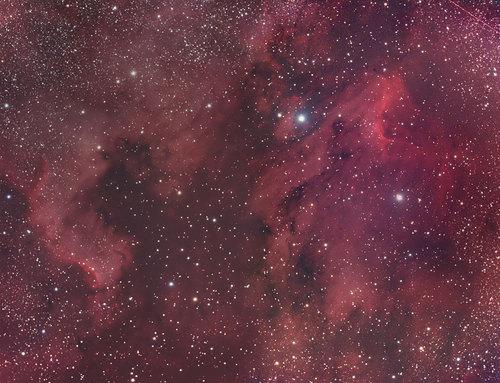 NGC7000モザイク